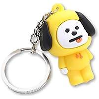 Kpop BTS BT21 3D Schlüsselanhänger Schlüsselanhänger, Schlüsselanhänger, Bangtan Boys Cartoon Schlüsselanhänger, Zubehör