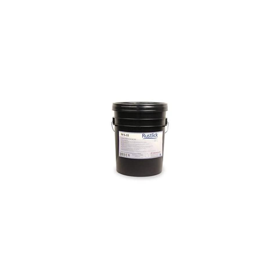 RUSTLICK WS 11 Light Duty Water Soluble Oil   MODEL  74053 Container Size 5 Gallon SERIES WS 11