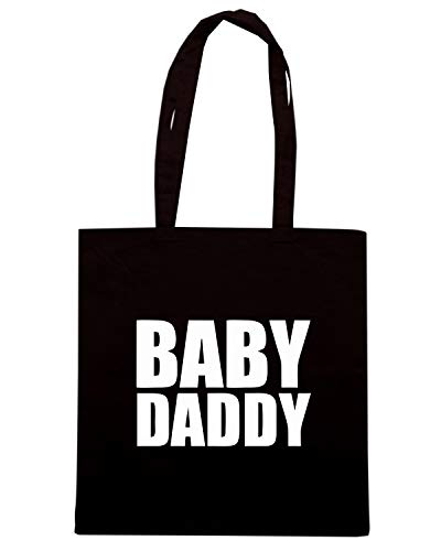 FUN0666 Borsa Shirt BABY DADDYLRG Shopper Speed Nera T8PazP