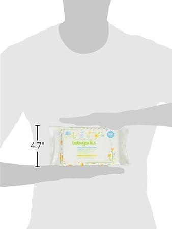 Amazon.com: Cara, manos y toallitas de bebé, fragancia, 600 Conde (Contiene seis paquetes 100-Count): Baby