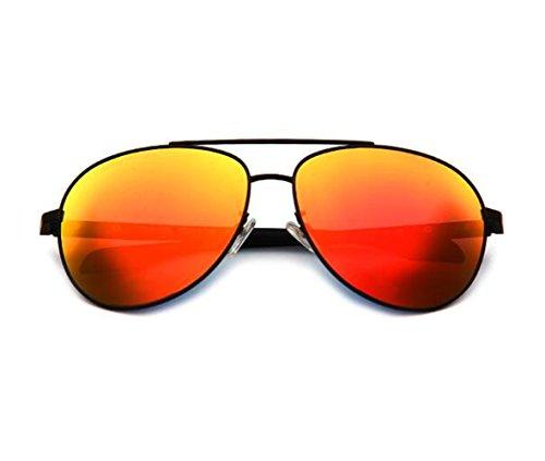 glasses nbsp;colorido Box De Retrovisor Ópticas Gafas Naranja Sol panel Big Caja Espejo Negra Sun Offset El UwnI4d1qU