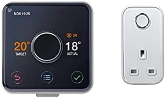 Hive Heating and Hot Water Thermostat with Professional Installation + Smart Plug