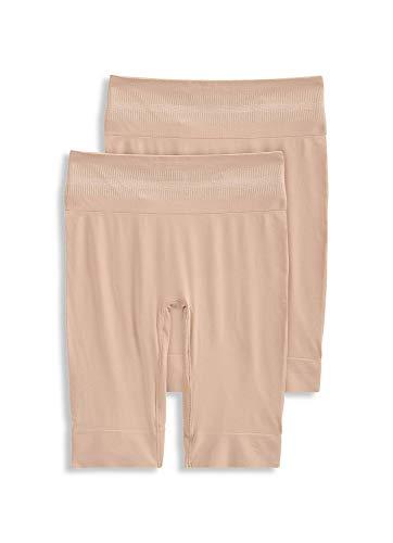 Jockey Women's Shapewear Skimmies Cooling Slipshort, Light/Light, L