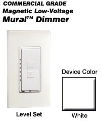 MLM06-1LW Leviton Decora Mural Level Set Dimmers ()