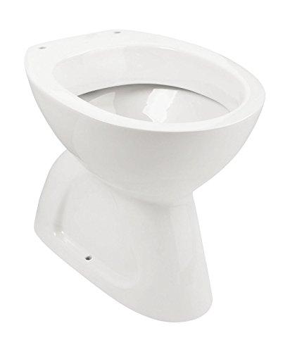 Stand-WC   Tiefspüler   Abgang innen senkrecht   Weiß   Keramik   Toilette   Gäste-WC   Bad   Badezimmer   Design   Modern