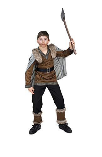 Viking Warrior Costume - Halloween Boy's Barbarian Medieval Fighter, Small