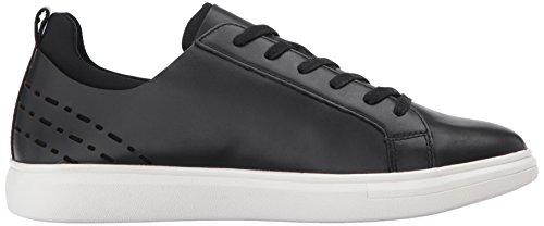 Dr. Scholls Mens Lucidité Mode Sneaker En Cuir Noir