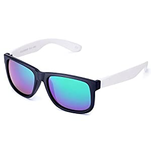 Unisex Driving Sunglasses with TPE Frame, UV400 Men Classic Retro Glasses