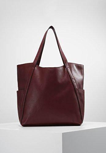 decorative a borsa con Rosso ca in Bag similpelle Elegante cm alta qualità mano di donna da borsa classica Field Anna Shopper frangette 31x43x14 vwOSqPZC