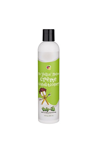 Snip-its No Yellin' Melon Kids Créme Conditioner (Pineapple and Melon, 10 oz Bottle) – Natural Botanical Extracts – Cruelty-Free – Renewable Sources, Made in the USA Kids Creme