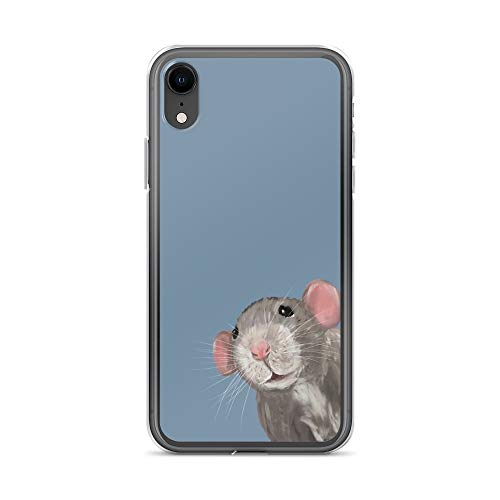 iPhone XR Pure Clear Case Cases Cover The Peeking Rat