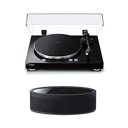Yamaha MusicCast Vinyl 500 Turntable with MusicCast 50 Wireless Speaker (Black)