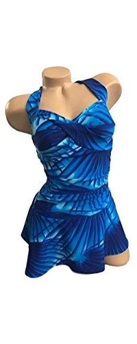 Wior Carol Bra (Carol Wior Sweetheart Swimdress 61500CR (Island Palm, 16))