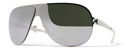 Mykita - Gafas de sol - para hombre plateado plata: Amazon ...