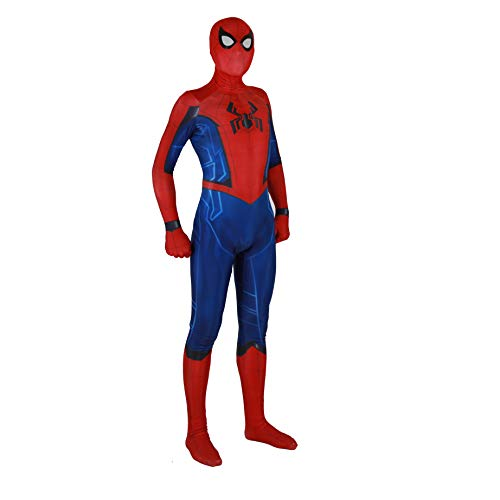 Spiderman Homecoming Costume Adult Child's Deluxe Homemade Suit -