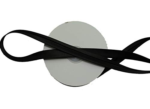 LYRACCES Satin bias Tape Lip Fabric Edge Ribbon Upholstery Sewing Piping Trims 20yards ()