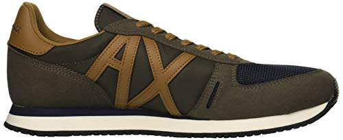 Retro A Exchange Men X Running Brown Dark Armani qqxZ8pa