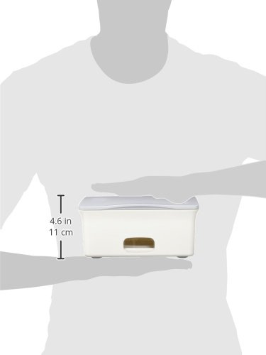 Ubbi Baby Wipes Dispenser with Weighted Plate, Gray by Ubbi (Image #6)