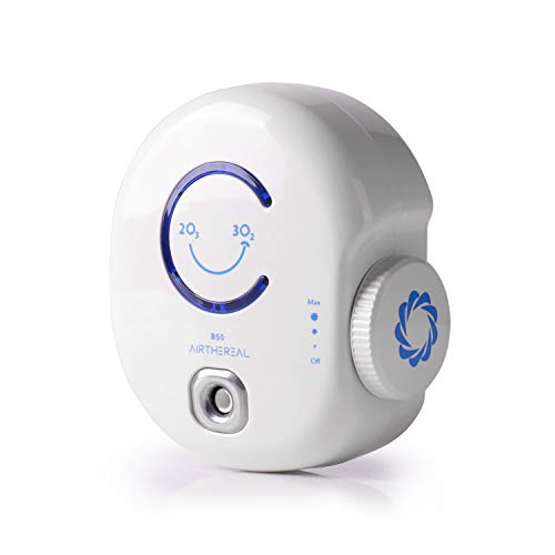 Airthereal B50 Mini Ozone Generator Plug-in Air Purifier, Portable O3 Disinfecting Machine Odor Eliminating Cleaner for Small Rooms