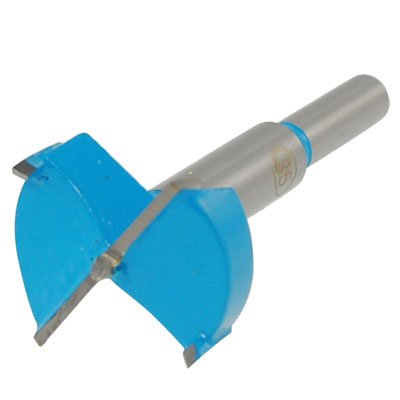 Uxcell Hinge Boring Drill Bit, 35mm Cutting Diameter, Gray Blue