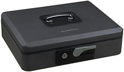 Arregui C9746 Caja de caudales de Acero Grafito con pulsador de ...