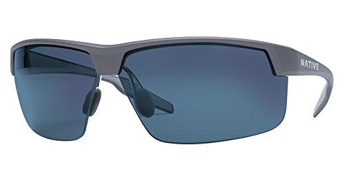 (Native Eyewear Unisex Hardtop Ultra XP Granite/Blue Reflex )