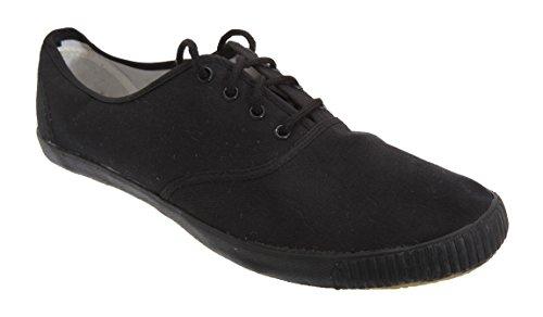Dek - Zapatillas para hombre Blanco blanco negro