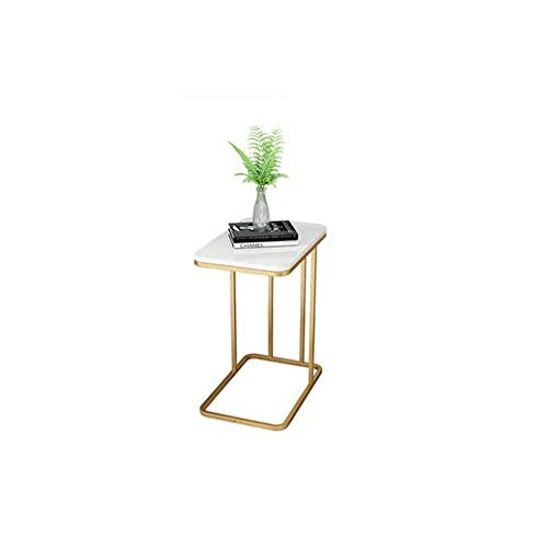 SYF Simple Modern Side Table | Sofa Corner Bed Bed Table | Bedside Table Nordic Wrought Iron Telephone Table Mini Coffee Table 58x50x30cm (Color : C) (Iron Telephone Table Wrought)