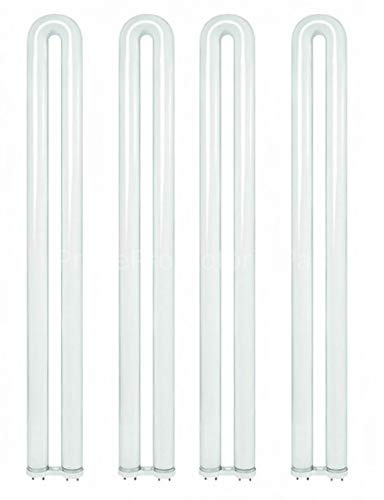 (4 Pack) Sylvania 21878 - FBO31/835 31 Watt T8 U Bend U Shaped Fluorescent Light Bulb, Ubend, Ubent 31W Curvalume Lamp Replaces FBO31/835/XP/ECO F31T8/SPX35/U/ECO FB31/835/ECO FB31T8/TL835