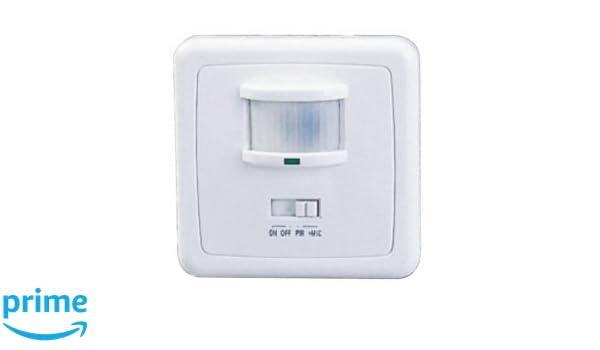 Sensor de movimiento interruptor de luz de 160° con sonido: Amazon.es: Electrónica