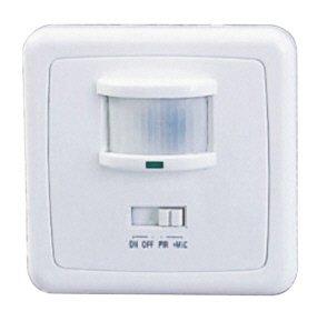 Sensor de movimiento interruptor de luz de 160° con sonido