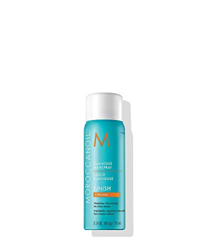 (Moroccanoil Luminous Hairspray Strong, Travel Size)