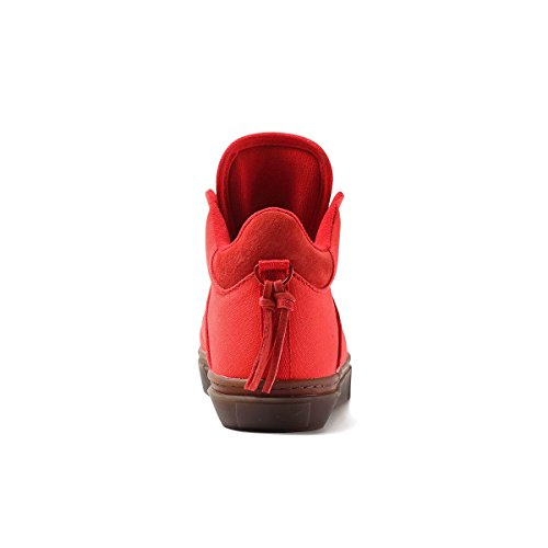 Klares Wetter Der One-Ten High Top Sneaker Rote Leinwand