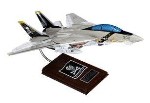 Mastercraft Collection Grumman F-14A Tomcat VF-84 Jolly Rogers USN Model Scale:1/36