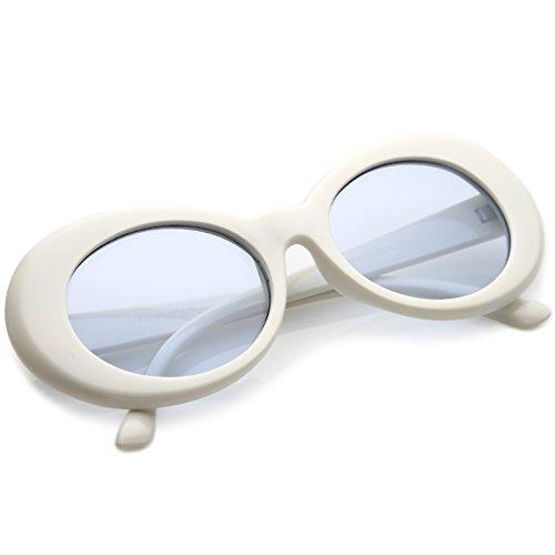 Zerouv Clout Goggles Glasses Oval Sunglasses With Retro