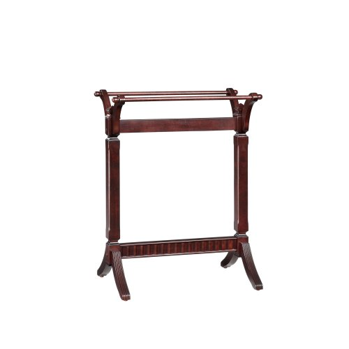 Powell Contemporary Merlot Blanket Rack by Powell's Furniture