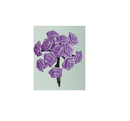 Glorex 63803583Dior Roses for Crafts Purple X 8.6x 14x -
