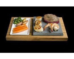 Large Lava Rock Cooking Set LR3