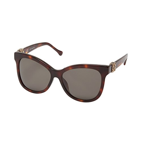 Mujer Brown para Loewe SLW950G5904AP Yellow Dark Gafas de Sol 59 xw86X7qa