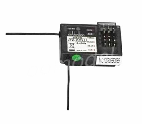 Walkera RX601 Receiver 6ch 2.4Ghz Receiver For DEVO 6/7/7E/8/10/12 Transmitter