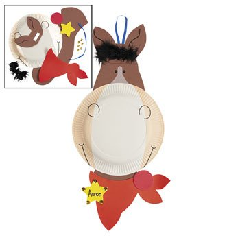 Paper Plate Horse Craft Kit - Vacation Bible School \u0026 Crafts for Kids  sc 1 st  Amazon.com & Amazon.com: Paper Plate Horse Craft Kit - Vacation Bible School ...