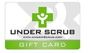 Under Scrub Gift Card
