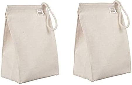 Eco-Bags Products Organic Cotton Lunch Bag (2 Pack)