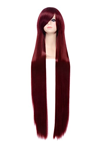 red 100 cm wig - 4
