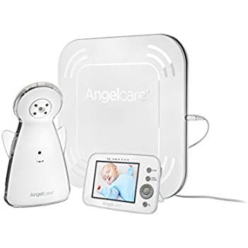 Angelcare Video and Movement with Sound Monitor, White