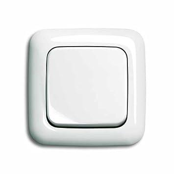 Beliebt Komplett-Set BUSCH-JAEGER, Wechselschalter -weiß- -Reflex SI BI77