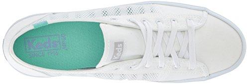 Sneaker A Rete A Righe Bianche Kate Kickstart Keds Bianca