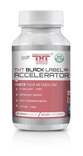 Black Label Accelerator | Designed for Toning and Slimming | Stimulant Free Diet Pill for Men and - Loss Accelerator Weight