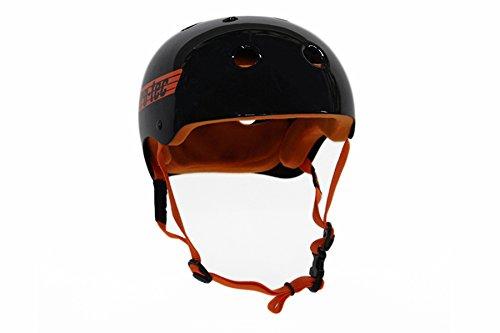 [해외]PRO-TEC (프로 텍) 헬멧 CLASSIC SKATE BUCKY LASEK (클래식 스케이트 バッキ?ラセック) 헬멧 글로스 블랙오렌지 【 정식 수입품 】 CLASSIC SKATE BUCKY LASEK L (58-60cm) / Pro-tec (Protec) Helmet Classic SKATE BUCKY Lasek (classic skate Bu...