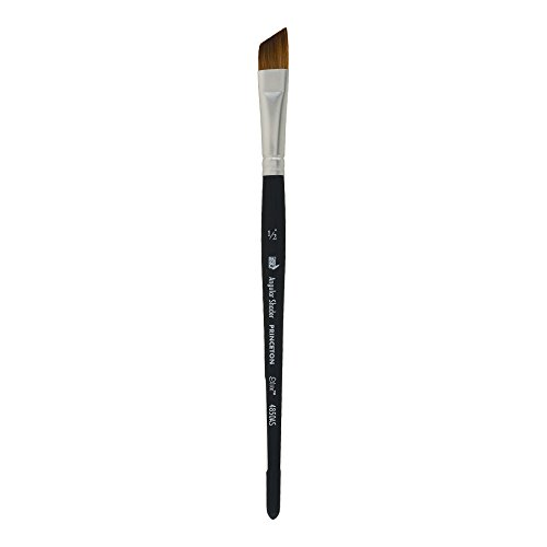 Princeton Elite NextGen Artist Brush, Series 4850 Synthetic Kolinsky Sable for Watercolor, Angle Shader, Size 1/2 by Princeton Artist Brush